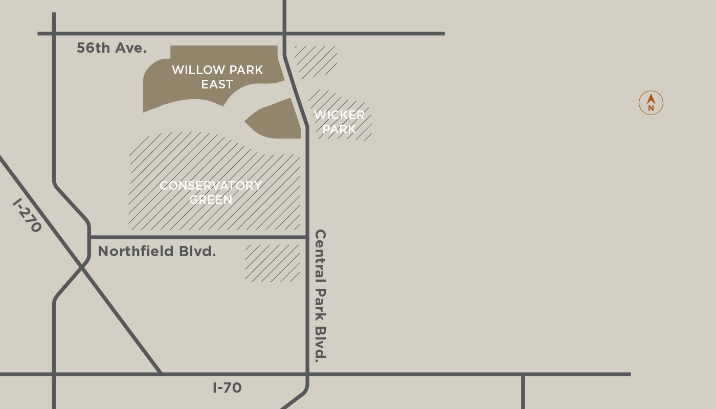 Willow-Park-East-Neighborhood-Map