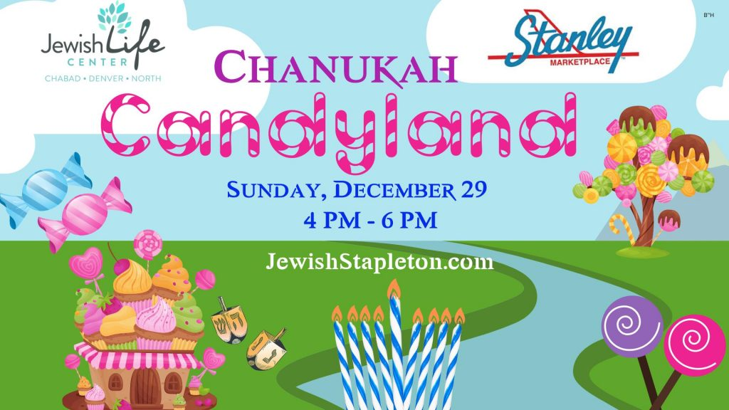 CHANUKAH CANDY LAND
