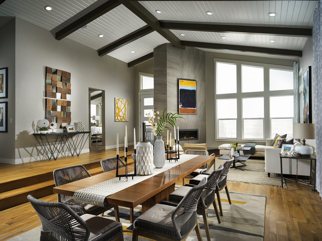 Kb Home S Mid Century Modern Ranch Designs Shine At Starlight Collection Central Park Denver Formerly Stapleton